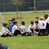 Huddle before the game