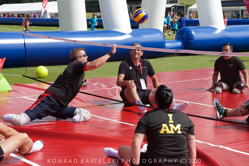 Invictus Games and Martin Johnson