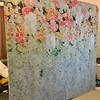 35. Stretch Fabric Backdrop - Flower Garden