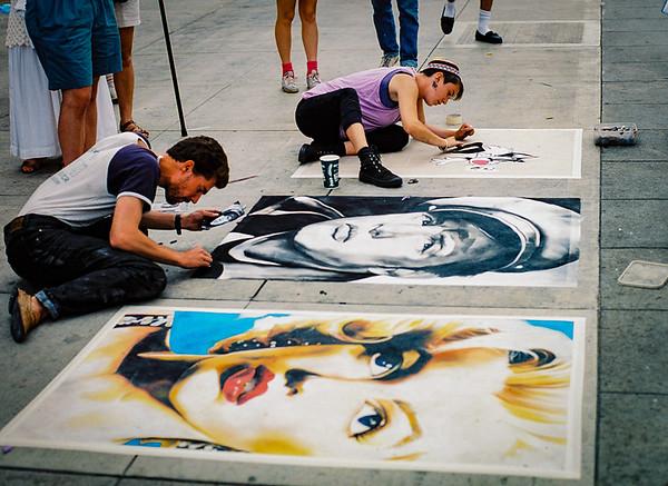 Side walk painting- CA