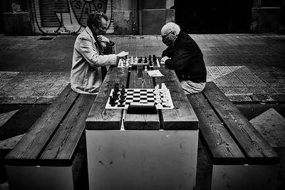 Covid Street Chess
