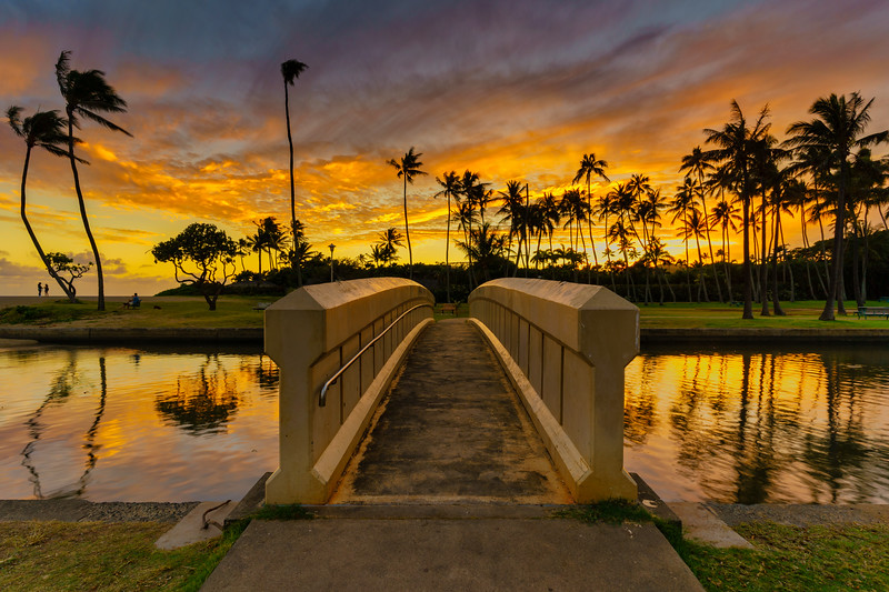 Bridge to Sunset