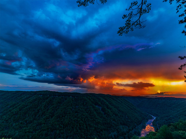 Blue and Gold Almost Heaven WV
