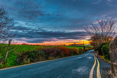 Sunrise from Haton Rd, Lancaster