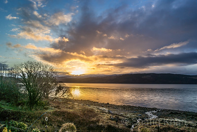 Sunrise over Lochgilphead, Argyll, Scotland