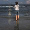 Fishing during Moonrise