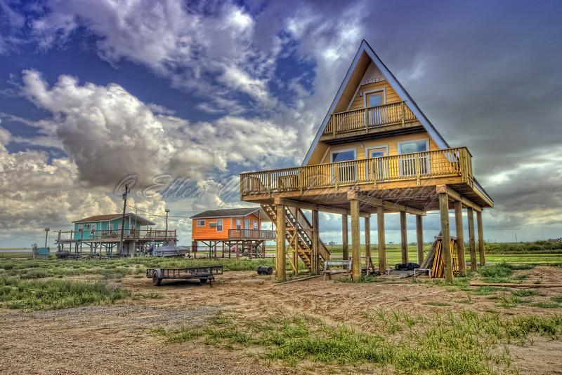 "Triangle Beach House - ""A frame"""