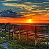 Crabbing Pier Sunset<br /> <br /> Located across from Stalman Park, the Crabbing Pier is a great place to go crabbing and enjoy the day.