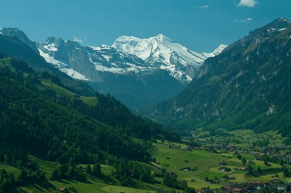 Swiss Alpine Valley
