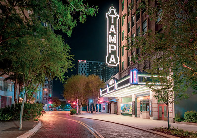 Tampa Theatre on N Franklin