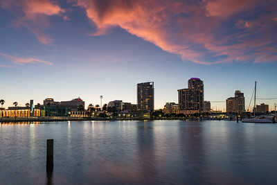 Sunset Over Downtown St. Pete
