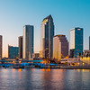 Downtown Tampa Sunset Hue