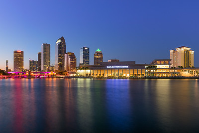 Downtown Tampa Water Colors