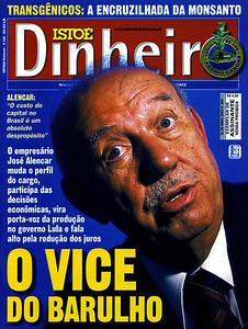 José Alencar, ex vice-presidente, São Paulo, 2003, Brasil.
