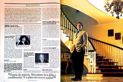Fernando Collor de Melo, ex-presidente, 2003, São Paulo, Brasil.