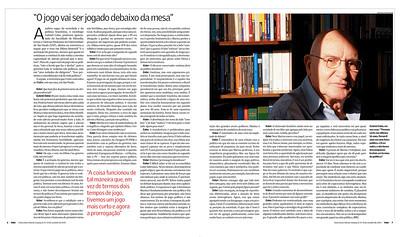 Gabriel Cohn, cientista político, professor da USP, São Paulo, 2010, Brasil.
