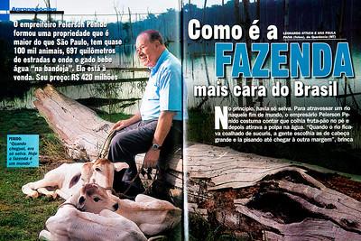 Pelerson Penido, empreiteiro, Querência (MT), 2005, Brasil.