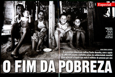 Família Cruz, Favela Alba, São Paulo, 2005, Brasil.