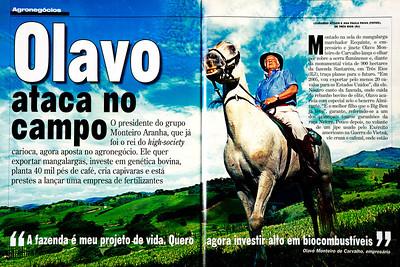 Olavo Monteiro de Carvalho, empresário, Três Rios (RJ), 2005, Brasil.