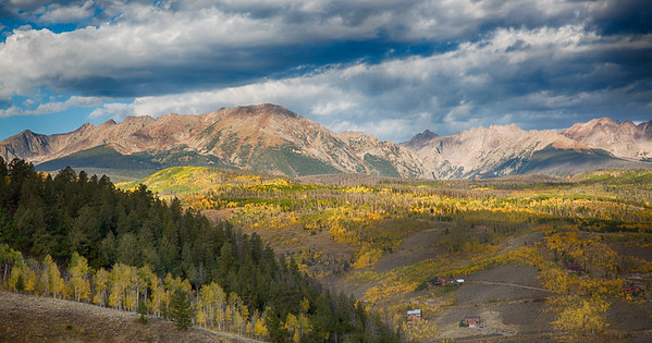 Stormy Fall Mountains