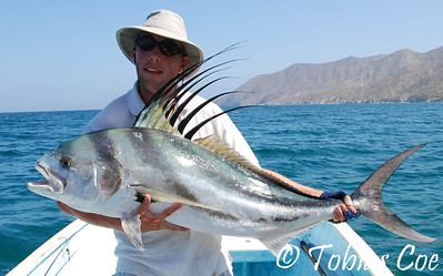The high-point of my flyfishing career. So far... A 50lb+ roosterfish, caught on an 8wt.