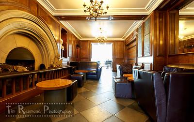 Castell Deudraeth Hallway