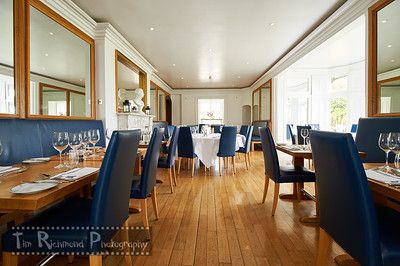 Castell Deudraeth Long Dining Room