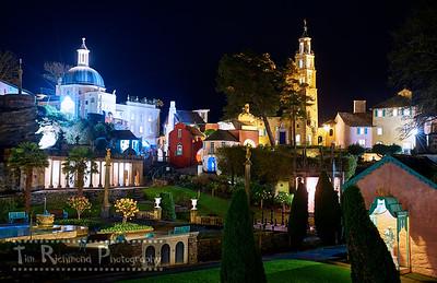 Portmeirion Night Time Vista