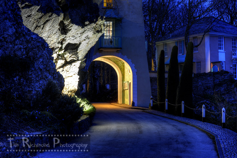 Gate House Arch