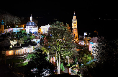 Portmeirion Film Set
