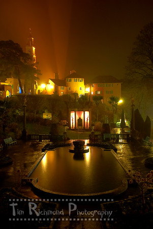 The Piazza On A Misty Night