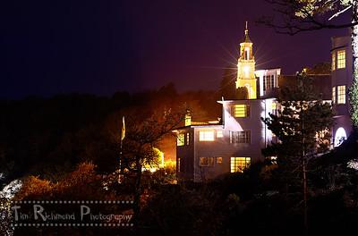 Toll House and Pilot at Night