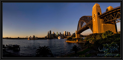 Downtown Sydney Early Morning
