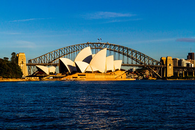 Sydney Harbor.  A classic photo of Sydney harbor with the Opera House and the Harbor Bridge. ALthough this photo has been taken a million times it is hard to stop at this spot and NOT take a pictrure.  it is a wonderful site and a beautiful city.