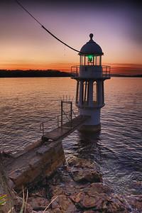 Cremorne Point Lighthouse Sunrise