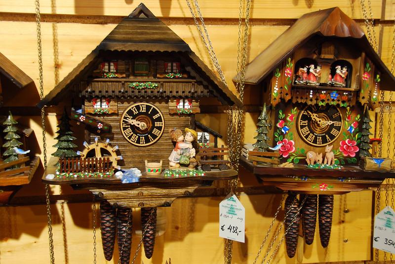 The original Cuckoo clocks