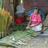 Weaving Nipa