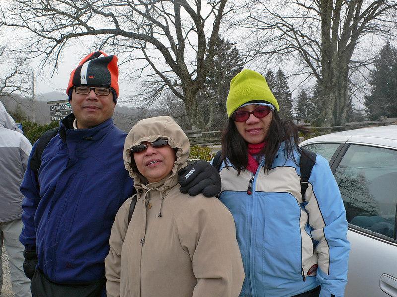 Jun, Christine and Monette
