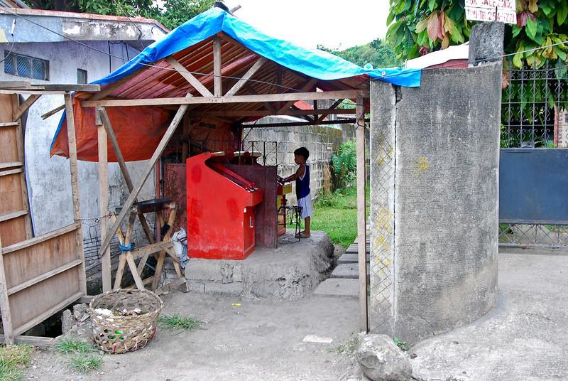 Street video arcade. Cebu style