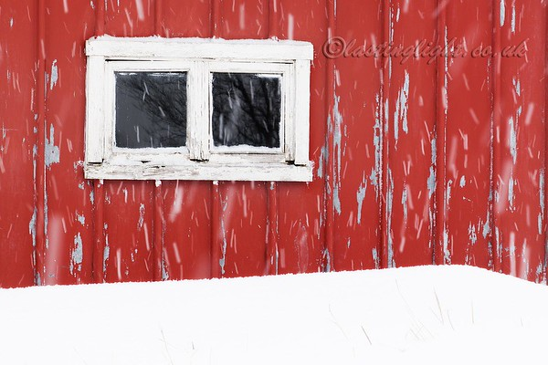 Window in Snow
