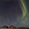 Boathouses and Aurora 1