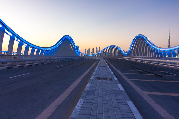 Meydan Bridge, Dubai, United Arab Emirates