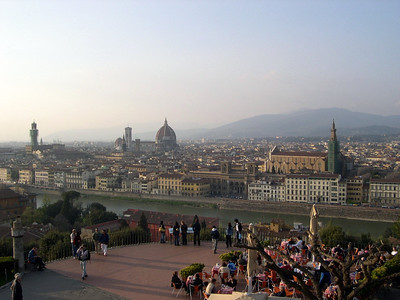 Piazza Michelangelo, Florence, Italy