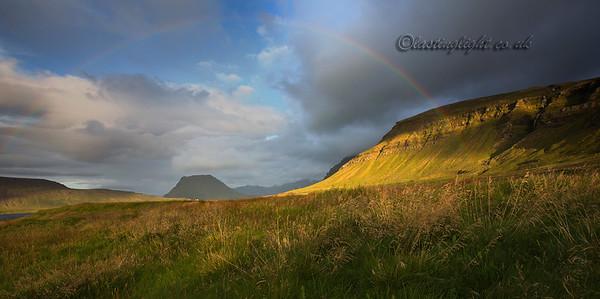 Rainbow over Kirkjufell