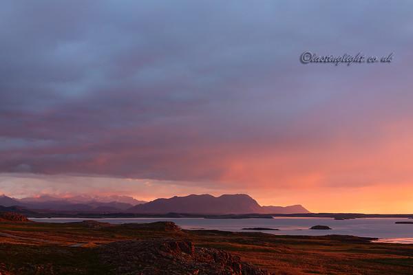 Breiðafjörður, evening light 2