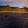 Búlandshöfði, evening light