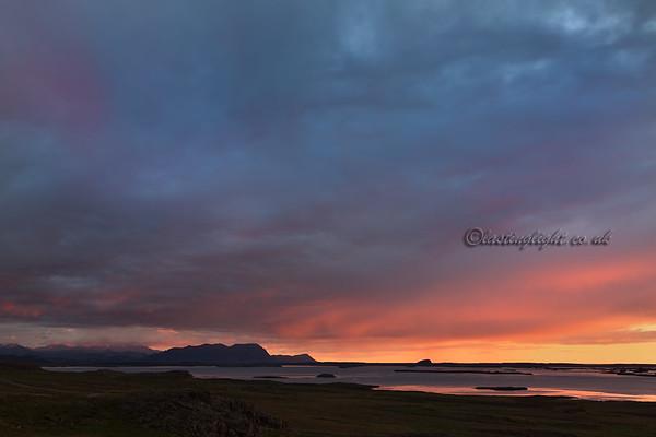 Breiðafjörður, evening light