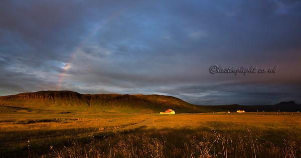 Breiðafjörður, rainbow