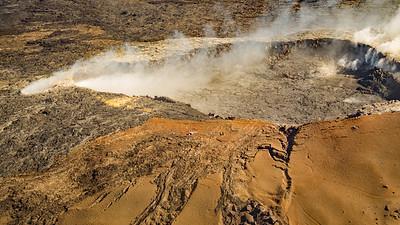 Pahoa Crater near Kilauea Volcano
