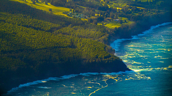 Coastline of Big Island, Hawaii